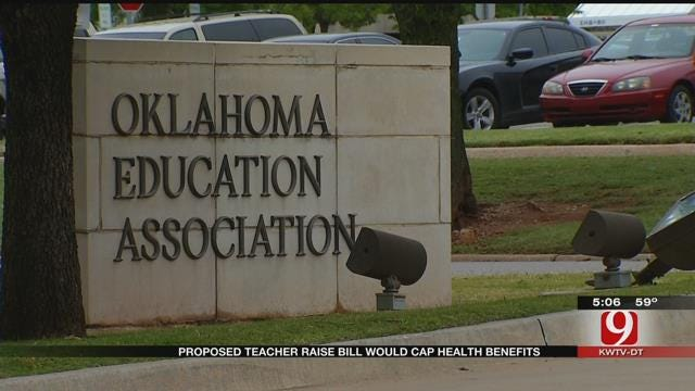 Proposed Teacher Raise Bill Would Cap Health Benefits