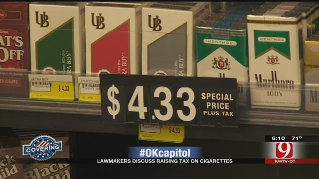 Lawmakers Discuss Raising Tax On Cigarettes