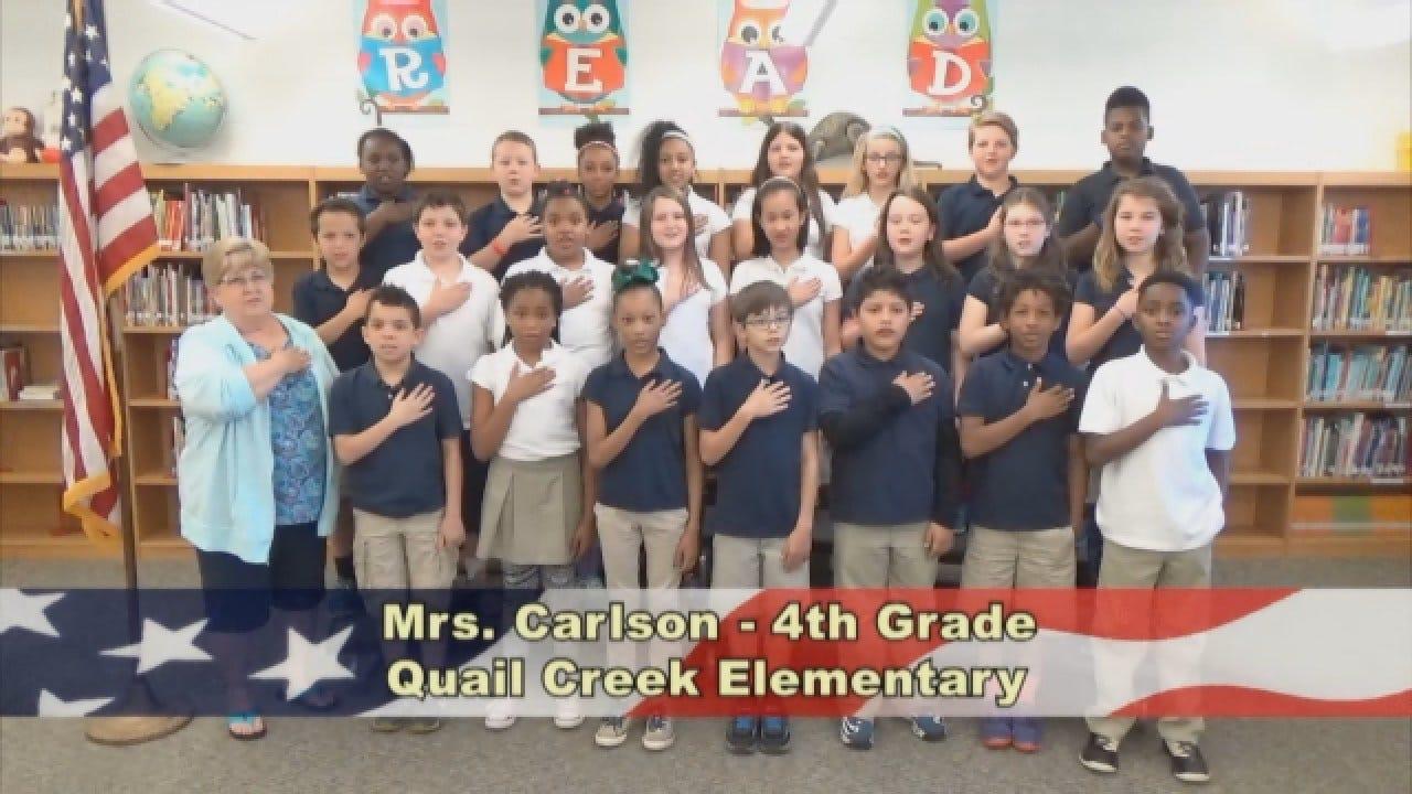 Mrs. Carlson's 4th Grade Class At Quail Creek Elementary