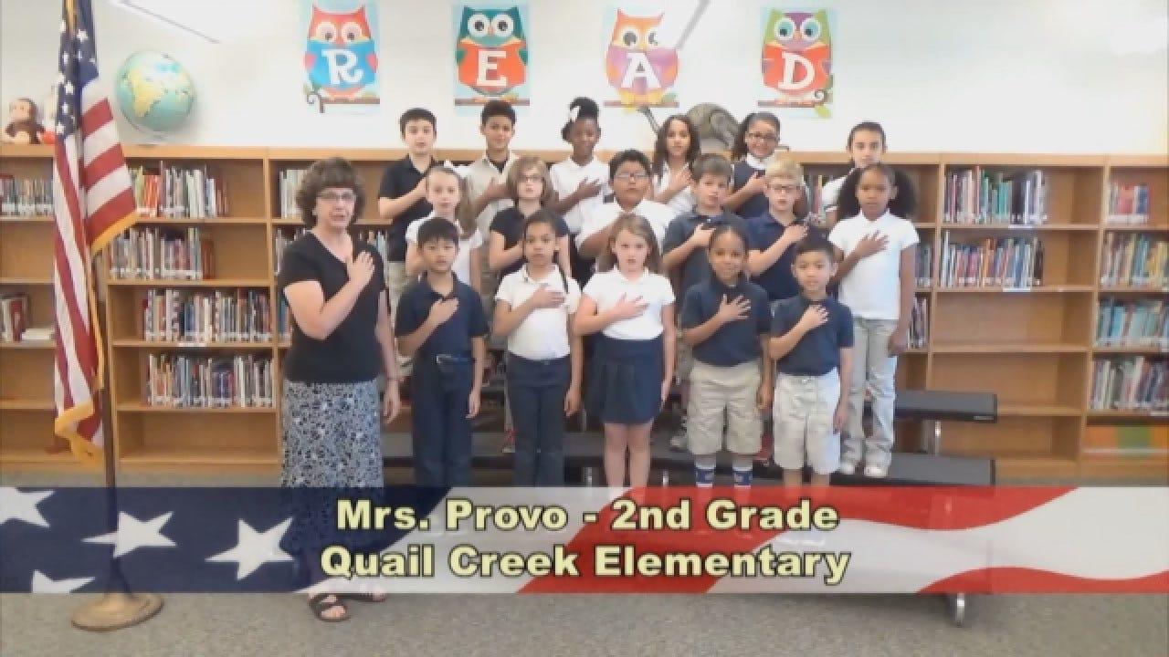 Mrs. Provo's 2nd Grade Class At Quail Creek Elementary
