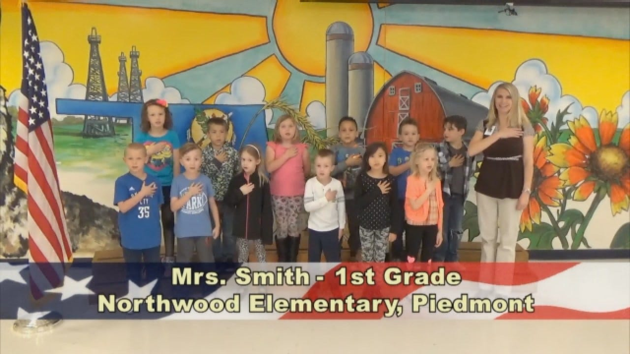 Mrs. Smith's 1st Grade Class At Northwood Elementary