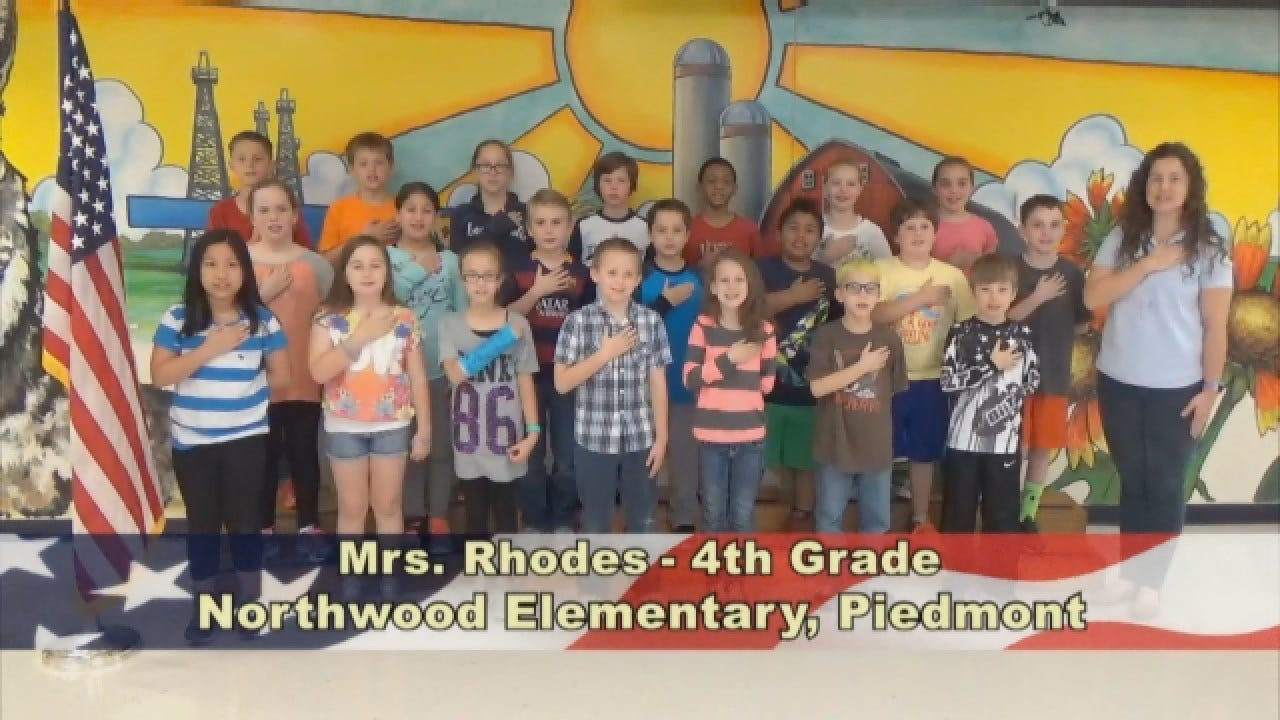 Mrs. Rhodes' 4th Grade Class At Northwood Elementary