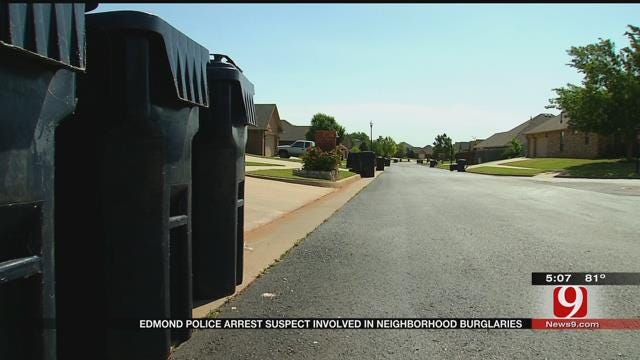 Police Arrest Suspect Connected To Edmond Burglaries