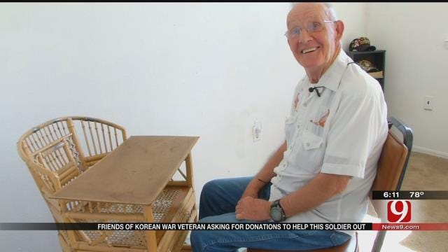 OK War Veteran Down On Luck, Friends Hope To Surprise With Donations
