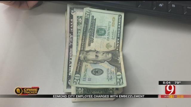 Edmond City Employee Facing Embezzlement Charges