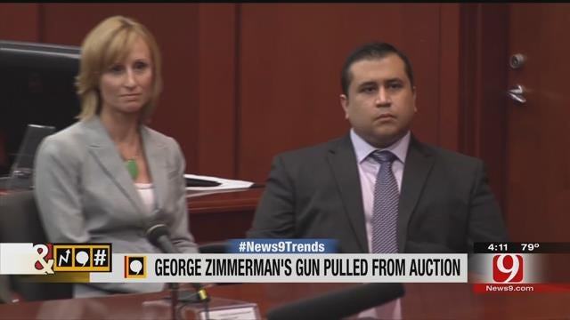 Trends, Topics, & Tags: George Zimmerman's Gun Pulled From Auction Site