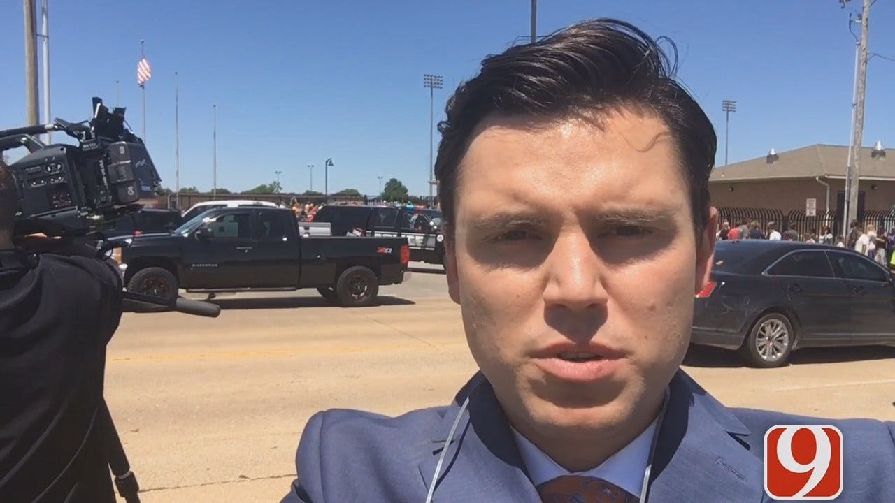 WEB EXTRA: Reporter Grant Hermes Updates On Moore HS Evacuation