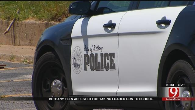 Bethany Middle School Student Arrested, Accused Of Bringing Gun To School