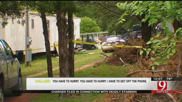 Charges Filed In Connection With Logan County Stabbing Death