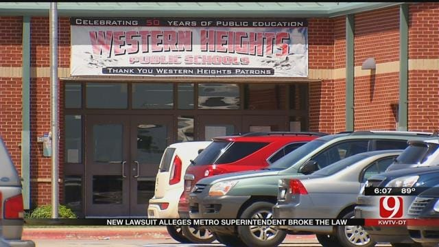 New Lawsuit Filed Against Western Heights Superintendent
