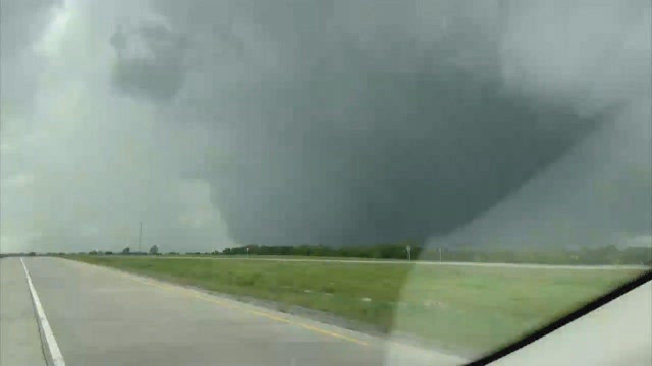 WEB EXTRA: Sulphur Tornado