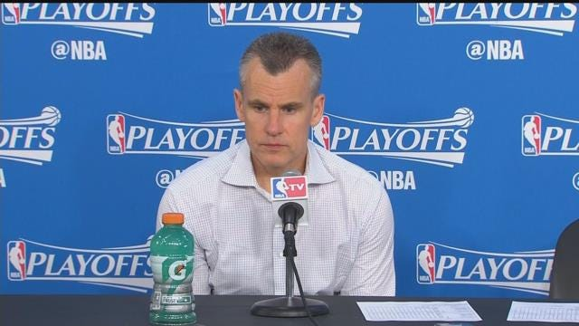 Billy Donovan Speaks After The Big Win
