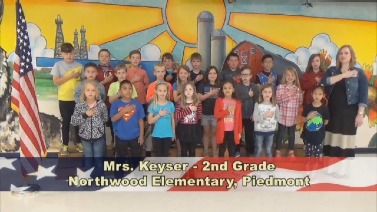 Mrs. Keyser's 2nd Grade Class At Northwood Elementary