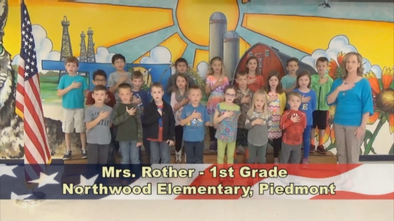 Mrs. Rother's 1st Grade Class At Northwood Elementary
