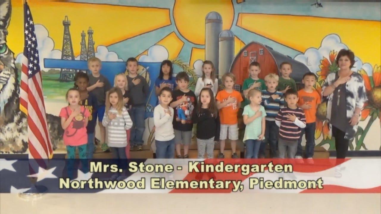 Mrs. Stone's KindergartenClass At Northwood Elementary