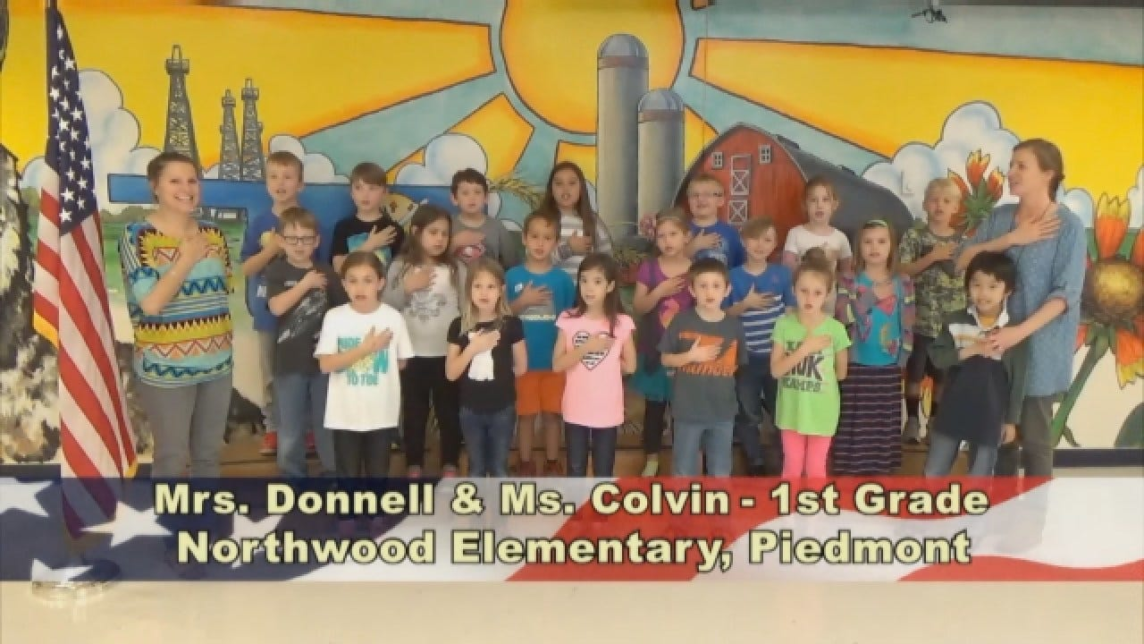 Mrs. Donell and Ms. Colvin's 1st Grade Class At NorthwoodElementary