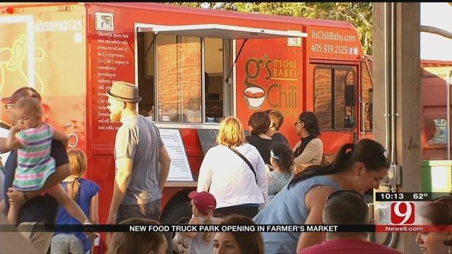 New Food Truck Park Opening At OKC Farmer's Market