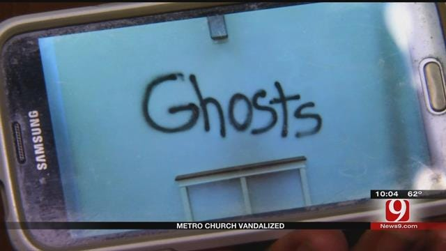 Vandals Ransack NW OKC Church