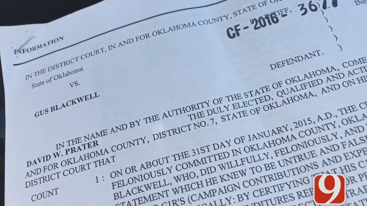WEB EXTRA: Former Okla. State House Leader Charged With Perjury, Embezzlement