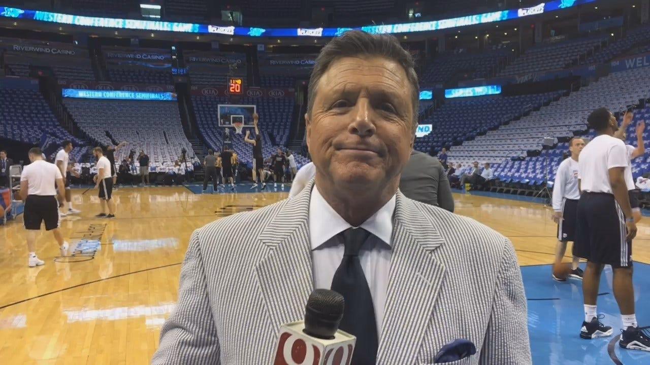 Dean Previews Thunder-Spurs Game 3