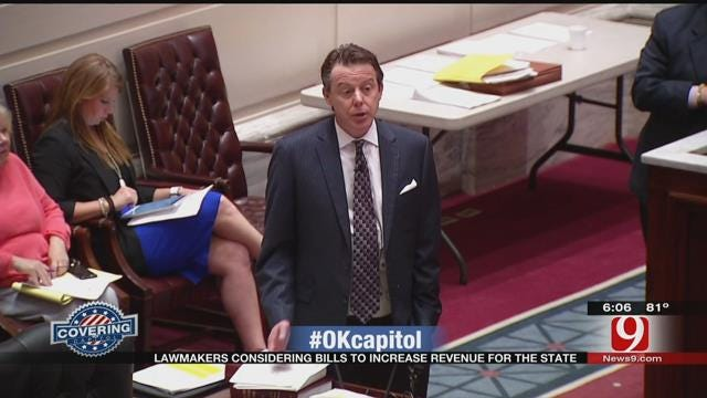 OK Lawmakers Considering Bills To Increase Revenue For The State