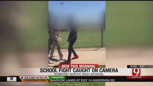 Police Investigate Vicious Fight Caught On Camera At Edmond North HS