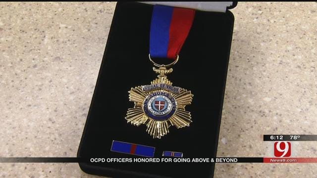Oklahoma City Police Department Honors Officers With Medal Of Valor