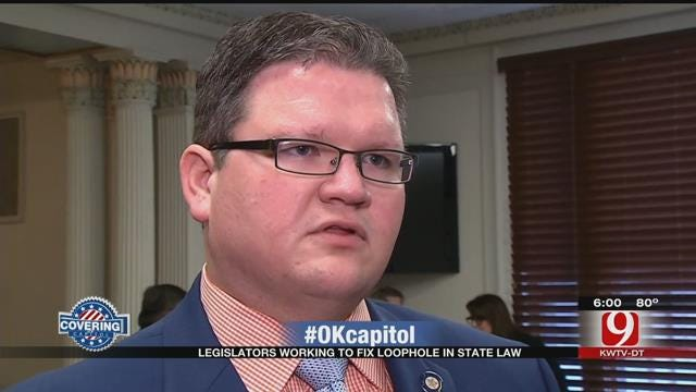 OK Legislators Draft Bill To Fix Loophole In State's Sodomy Law