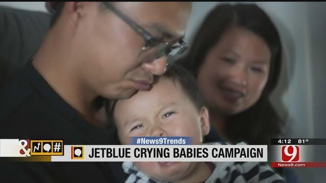 Trends, Topics & Tags: Crying Babies Prompt JetBlue To Give Free Flight To Passengers