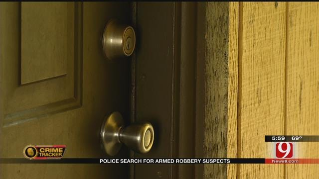 OKC Police Look For Armed Robbers