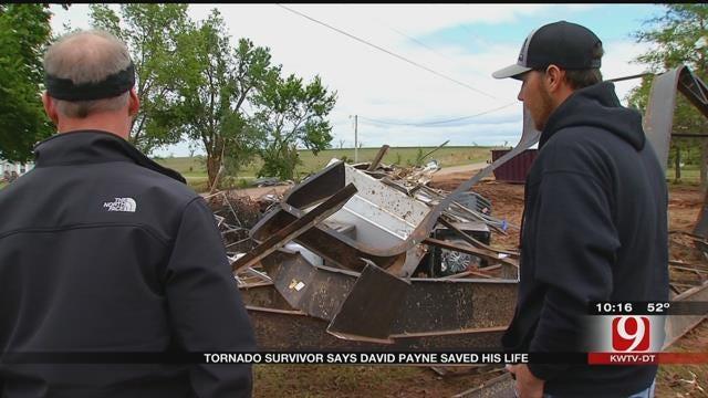 Tornado Survivor Says News 9 Chief Meteorologist David Payne Saved His Life