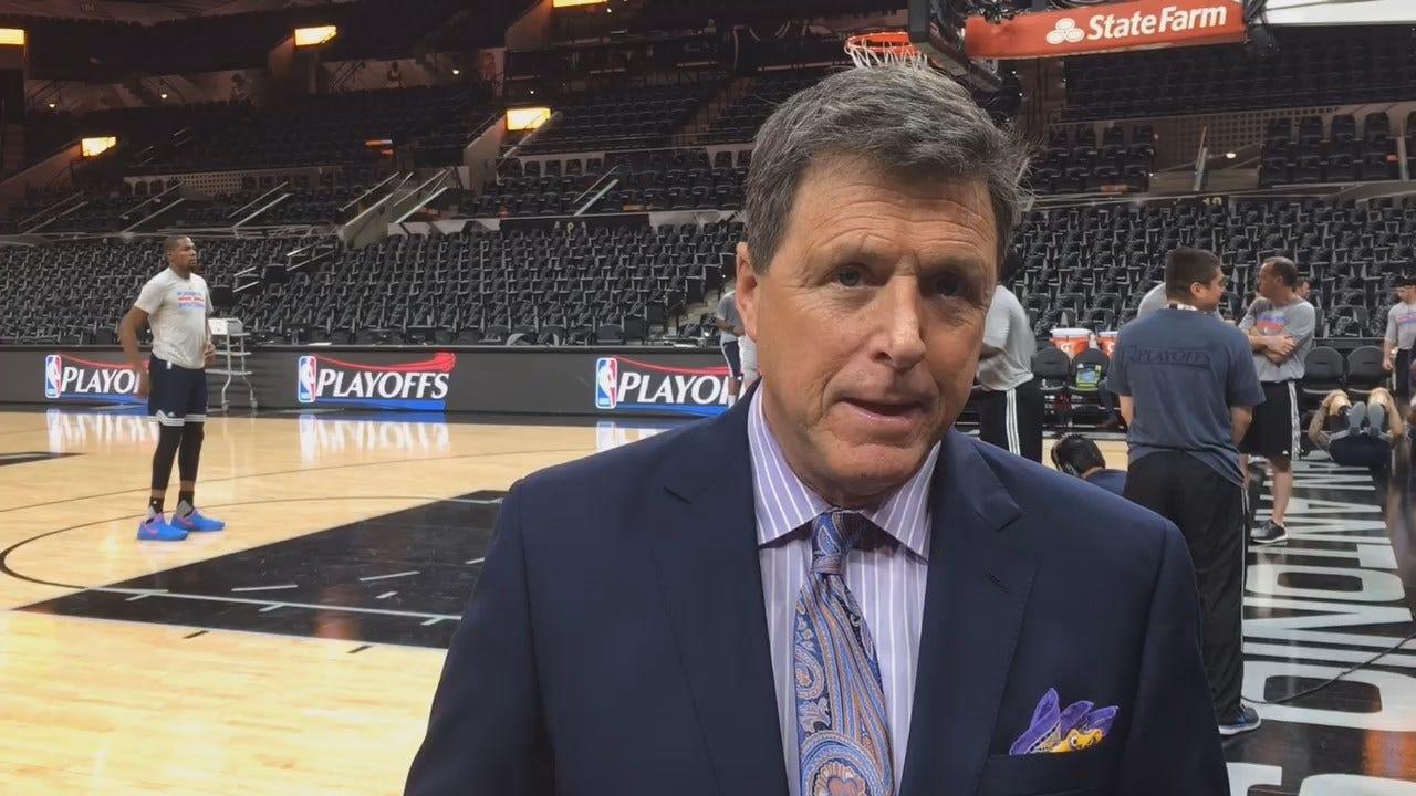 Dean Blevins Previews Game 2 Between Thunder & Spurs