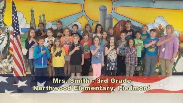 Mrs. Smith's 3rd Grade Class At Northwood Elementary