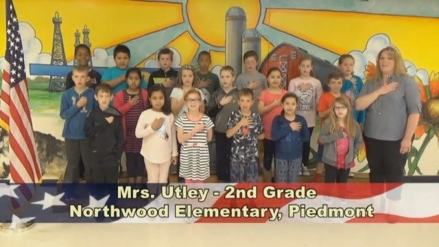 Mrs. Utley's 2nd Grade Class At Northwood Elementary