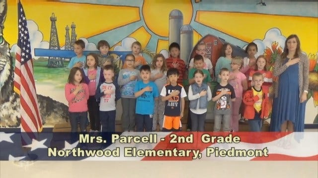 Mrs. Parcell's 2ndGrade Class At Northwood Elementary