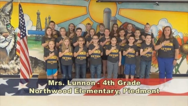 Mrs. Lunnon's 4th Grade Class At Northwood Elementary