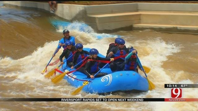 Riversport Rapids Set To Open Next Weekend