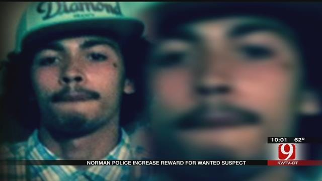 Norman Police Increase Reward For Wanted Suspect