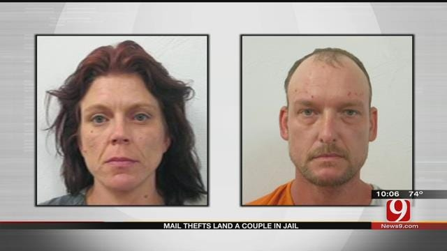 Mail Theft Lands McClain County Couple In Jail