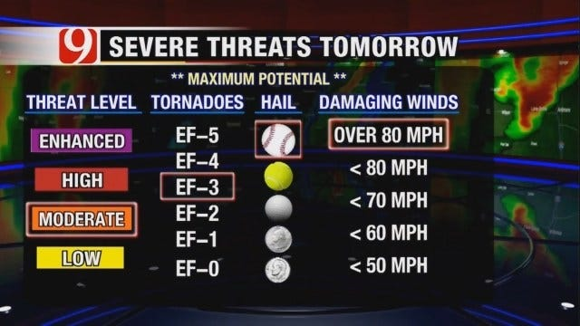 David Payne Tracks Possible Severe Weather Tuesday