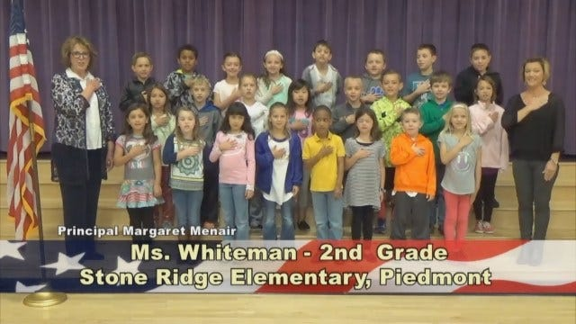 Ms. Whiteman's 2nd Grade Class At Stone Ridge Elementary