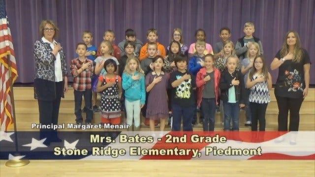 Mrs. Bates' 2nd Grade Class At Stone Ridge Elementary