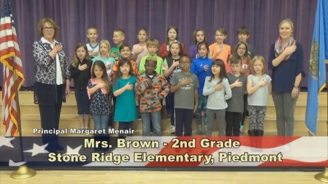 Mrs. Brown's 2nd Grade Class At Stone Ridge Elementary