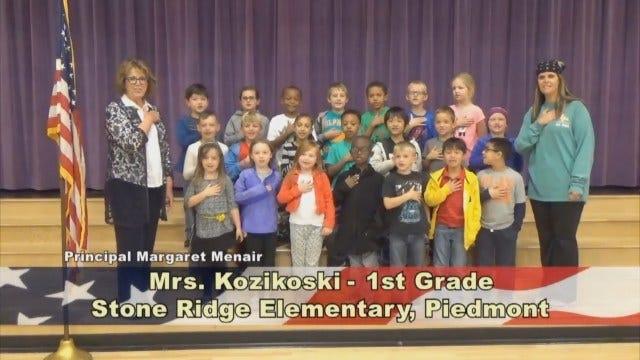 Mrs. Kozikoski's 1st Grade Class At Stone Ridge Elementary