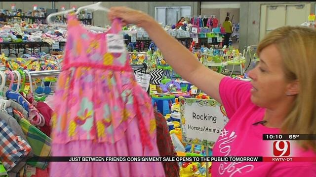 Just Between Friends Consignment Sale Opens To The Public
