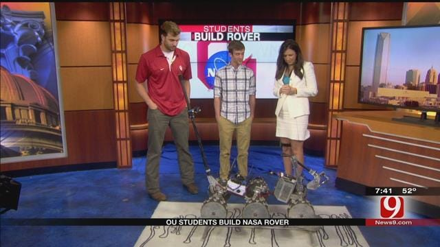 OU Students Build NASA Rover