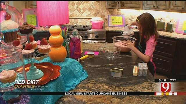 Red Dirt Diaries: Local Girl Starts Cupcake Business