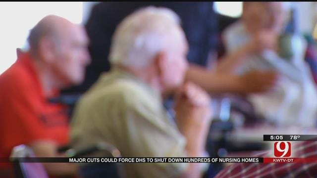 DHS Cuts Could Close Hundreds Of Nursing Homes