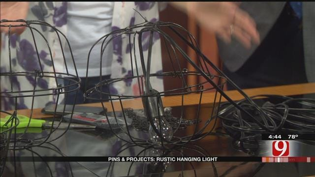 Pins & Projects: Hanging Light