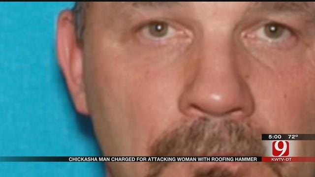 Chickasha Man Charged For Attacking Woman With Roofing Hammer